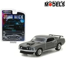 1969 FORD MUSTANG BOSS 429 John Wick Greenlight Limited Edition 1/64 Die Cast