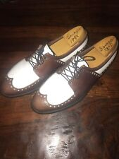 Gene Sarazen's Personally Used! Last Pair Of Golf Shoes Ever Used At Masters