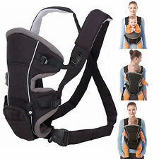 Allis Baby Carrier Backpack Sling Wrap With Removable Bag Red Black - 3 Ways