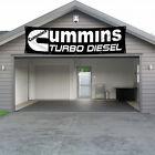 Cummins Turbo Diesel Banner Flag 2x8Ft Car Racing Show Garage Wall Workshop NEW