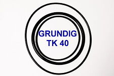 SET BELTS GRUNDIG TK 40 REEL TO REEL EXTRA STRONG NEW FACTORY FRESH TK40