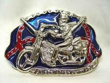 """Gürtelschnalle Motorrad """"Rebel Rider From Hell"""", #13"""