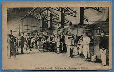 CPA: Camp de Mailly - Intérieur de la Boulangerie Militaire