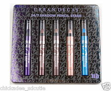 Urban Decay 24/7 Glide On Shadow Pencil Stash Set Of 5 - Travel Size