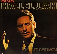 LONNIE DONEGAN sing hallelujah ST 784 uk world record club LP PS EX/EX