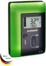 Sunload M5 Ladegerät (Solar/12V/230V) mit USB-Ausgang Powerbank Li-Ion Akku