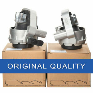 OEM Pair of L&R Side Engine Mounts For Audi A6 2.0T 2012-2015 4G0 199 381NT/QA