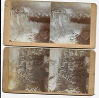Rock City Little Valley NY 1880s Stereoviews / Erie Railway Cornell Randolph NY