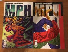 MPH 1 and 2 First Print Image Comics Mark Millar Duncan Fregredo Speed Drugs