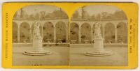 Versailles Colonnade Francia Foto Stereo PL55L5n Vintage Albumina