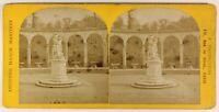 Versailles Colonnade Francia Foto Stereo PL55L5n Vintage Albumina