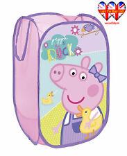 Peppa Pig Pop Up Laundry Basket,Toys Basket,Storage Bin,Official Licensed