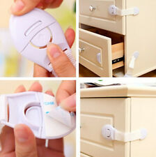 Safety Lock child Infant Baby Kids Toddler Fridge Drawer Door Cabinet Cupboard H