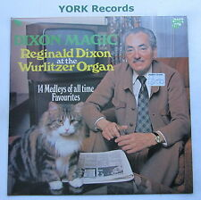 REGINALD DIXON - Dixon Magic - Excellent Condition LP Record One-Up OU 2186