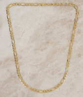 9ct Yellow Gold Figaro Chain 20 Inches