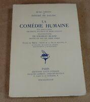 OEUVRES COMPLETES DE BALZAC 11 LA COMEDIE HUMAINE - EDITIONS LOUIS CONARD 1948
