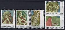 SAN MARINO 1975 MNH SC.860/864 Frescoes by Giotto