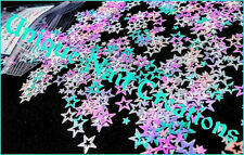 HOLLOW STAR~Glitter~Multi-Sizes~Nail Art•Acrylic•Gel•Body Art•Face•Festival⭐