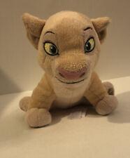 "Disney Store EXCLUSIVE Lion King Movie 8"" Nala Simba Friend Bean Bag plush"