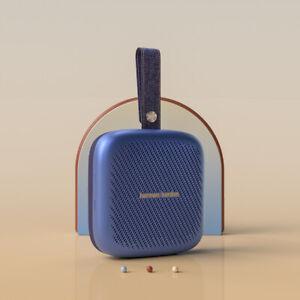Harman Kardon Neo Portable Wireless Bluetooth IPX7 Waterproof Speaker W/ Strap