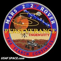 Authentic TIM GAGNON MARS 2020 ROVER -PERSEVERANCE- NASA JPL USAF SPACE PATCH