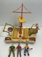 Peter Pan 1991 TriStar Pictures Inc Lot of 3 Figures & Play Set