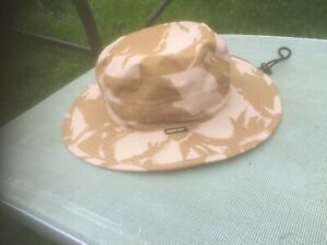 RIP-STOP Goretex BRITISH ARMY SF STYLE SPECIAL FORCES Jungle CAMO BUSH HAT large