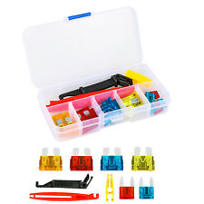 22pcs Car Blade Emergency Spare Fuse Kit with Clips 5 10 15 20 AMP Replacement
