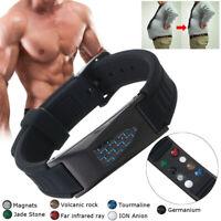 7 en 1 Bracelet Magnétique Bijoux Anti-Douleurs Arthrose Rhumatisme Cadeau