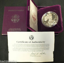 1992 American Eagle One Ounce PROOF Silver Coin - 1 oz Troy Bullion - US Mint