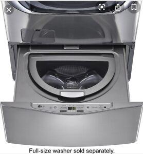 LG SideKick Pedestal Washer, Graphite (gray grey), New in Box