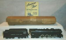 AMERICAN FLYER No. 326 NYC 4-6-4 HUDSON and TENDER with WRAP and INST. BOOK-EXC