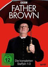 10 DVD-Box * FATHER BROWN - DIE KOMPLETTEN STAFFELN 1 + 2 + 3 # NEU OVP W