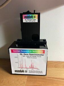 GL Gem Spectrometer Uv-Vis Nir 300 - 1000nm Gemology tools Software included