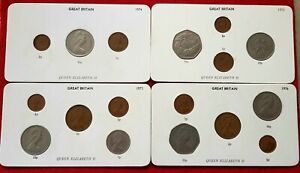 BIRTHDAY 1968-1989 COIN GIFT SET CHOICE OF YEAR QUEEN ELIZABETH PICK ACTUAL SET