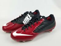 NIKE Vapor Speed Low TD Football Dark Red/Black Cleats 668854-001 Size 12 Mens