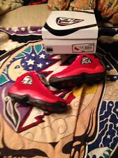 Fila 96 Size 10.5 Red Suede Grant Hill Men's Shoes