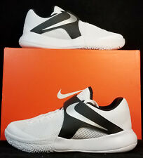 NIB NIKE Mens 11 ZOOM LIVE TB PRMO 902590 100 WHITE BASKETBALL CASUAL SHOES $100