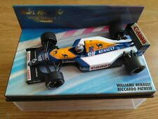 COCHE 1:43 MINICHAMPS WILLIAMS RENAULT RICCARDO PATRESE
