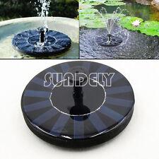 Brand new Hi-Q 1.4W Solar Powered Water Pump Kit Garden Floating Fountain Pond