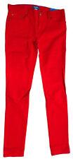 """adidas Damen """"SUPERSKINNY FIT"""" 5 Pocket Jeans Hose rot Gr. 32/32"""