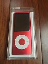 Apple 8GB iPod Nano 4th Generation Red New