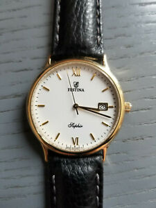 Festina 750er Gold 18k Armbanduhr