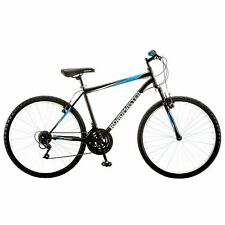 Roadmaster Granite Peak Mountain Bike for Men -  Black/Blue