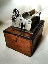 Rare Ancien Gramophone Phonographe à rouleau de marque OMEGA