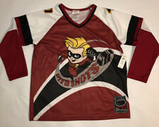 Disney The Incredibles Speed Shots Dash Hockey Jersey Boys Youth Large 10/12 New