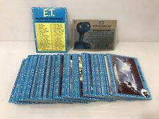 Série complète E.T 87 cartes the extra Terrestrial terrestre movie photo cards