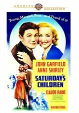 SATURDAY'S CHILDREN - (1940 John Garfield) Region Free DVD - Sealed