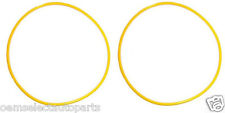 NEW OEM 1999-2004 Ford Super Duty 4x4 Hub Vacuum O-Ring Yellow Knuckle Seal PAIR