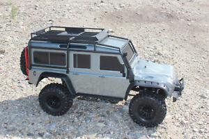 Traxxas 82056-4 TRX-4 Gray Crawler land rover Defender 1:10 Rtr